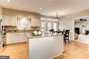 Newly renovated gourmet Kitchen - 13940 SHALESTONE DR, CLIFTON