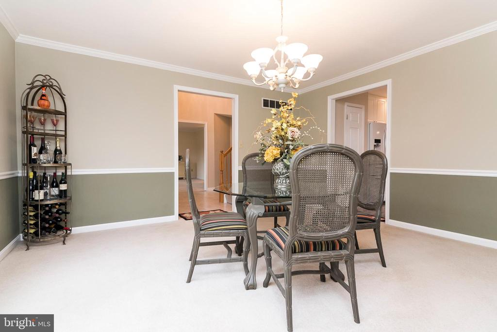 Formal Dining Room - 7170 WANDA DR, MOUNT AIRY