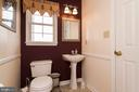 Half Bathroom - 7170 WANDA DR, MOUNT AIRY
