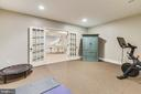 Lower Level Exercise Room - 15730 OLD WATERFORD RD, PAEONIAN SPRINGS