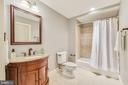 Lower Level Full Bathroom - 15730 OLD WATERFORD RD, PAEONIAN SPRINGS