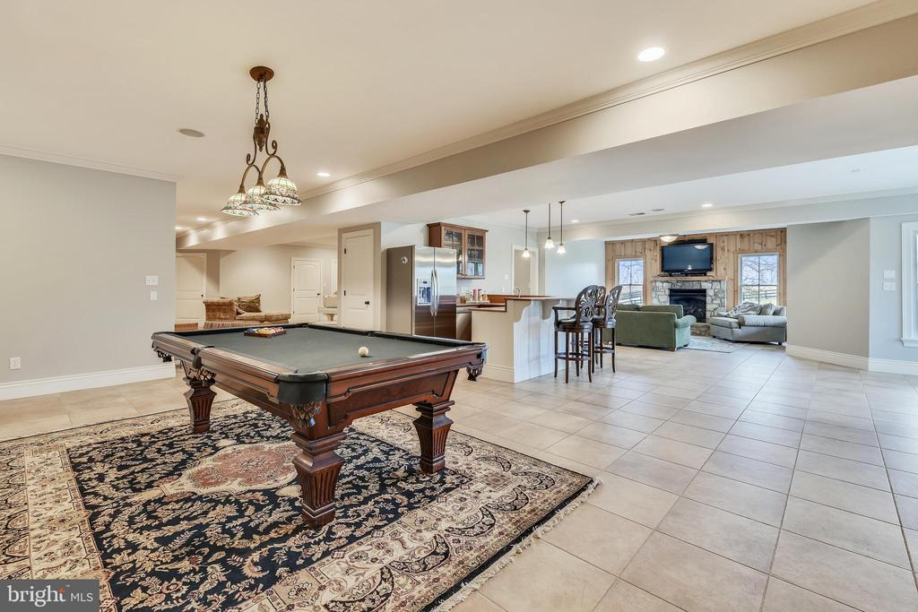 Alternate View of Recreation Room - 15730 OLD WATERFORD RD, PAEONIAN SPRINGS