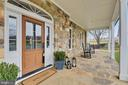 Welcoming Large Front Porch - 15730 OLD WATERFORD RD, PAEONIAN SPRINGS