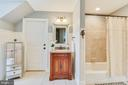 Upper Level Full Bathroom - 15730 OLD WATERFORD RD, PAEONIAN SPRINGS