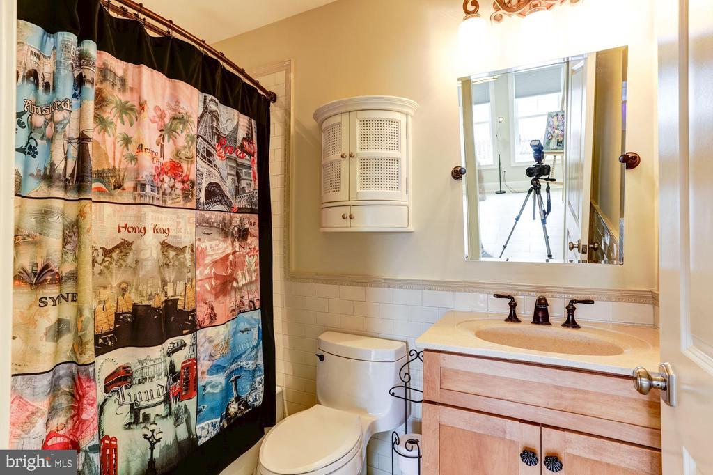 Basement guest room full bathroom - 203 CAPE SAINT JOHN RD, ANNAPOLIS