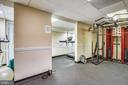 Gym for your daily workout - 1801 CLYDESDALE PL NW #224, WASHINGTON