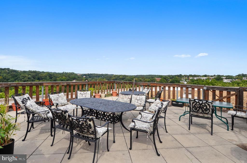 Roof Deck with fabulous views - 1801 CLYDESDALE PL NW #224, WASHINGTON
