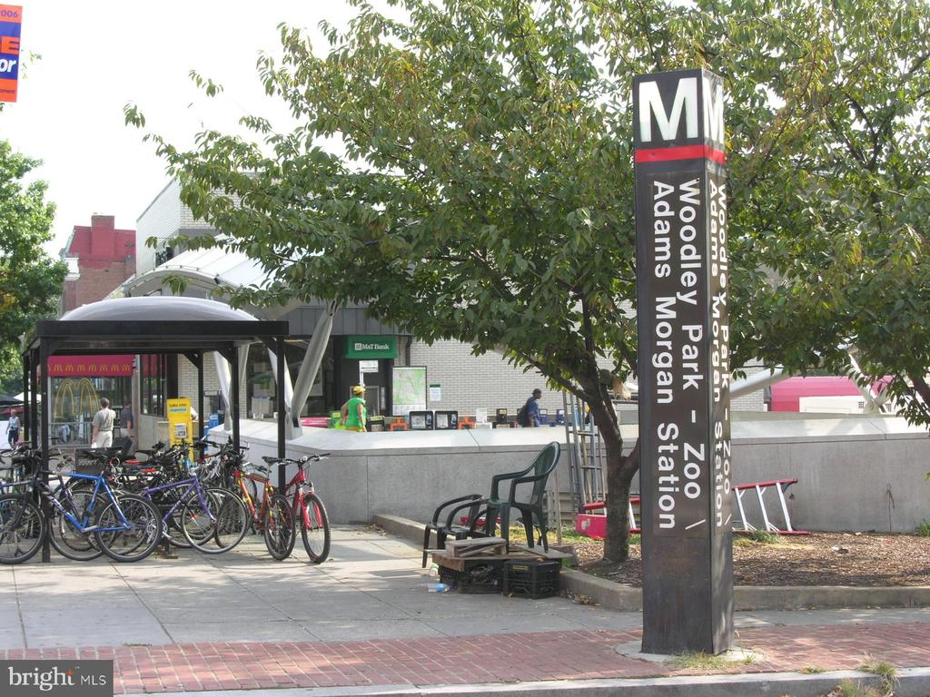 Metro stop close by - 1801 CLYDESDALE PL NW #224, WASHINGTON
