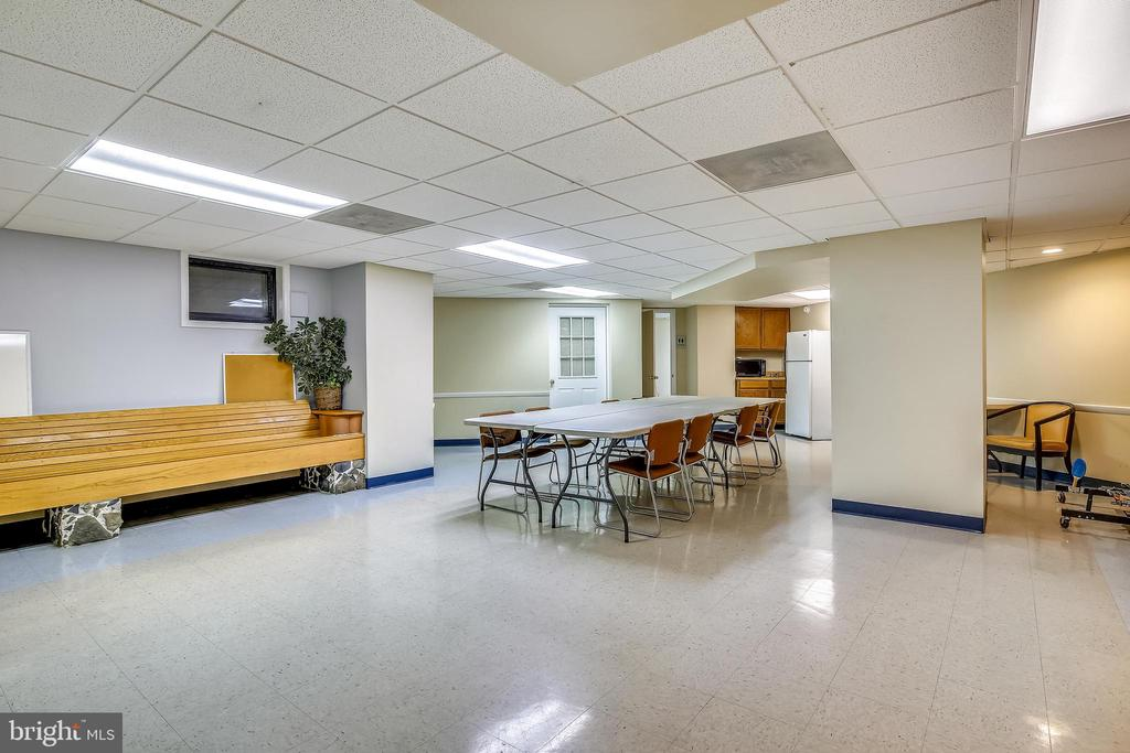 Social/Party Room w/renovations on the way - 1801 CLYDESDALE PL NW #224, WASHINGTON