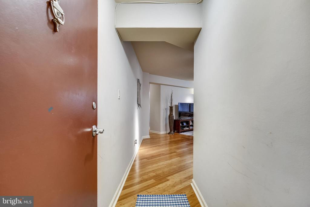 Front door of Unit 224 - 1801 CLYDESDALE PL NW #224, WASHINGTON