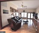 Living rm or Dining rm with ample natural light. - 15805 BREAK WATER CT, MINERAL