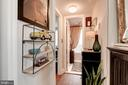 Hall to Bath and Master Bedroom - 3872 9TH ST SE #102, WASHINGTON