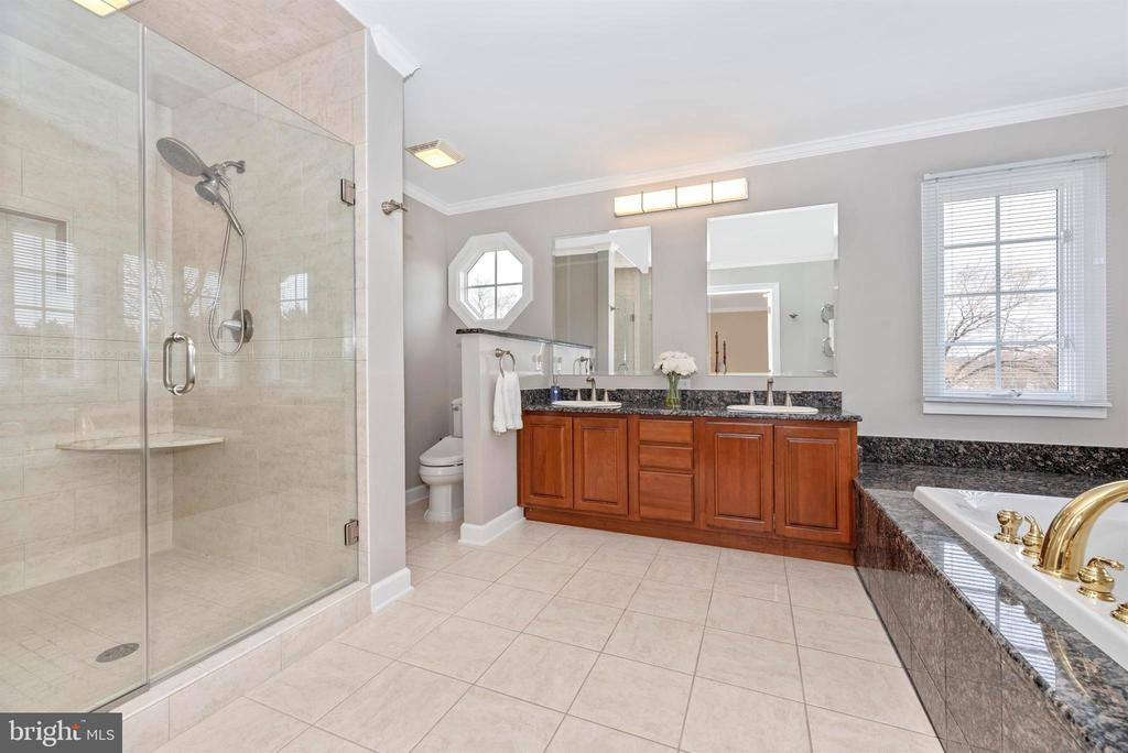 Framless Shower Door and Dual Showerheads - 5221 MUIRFIELD DR, IJAMSVILLE