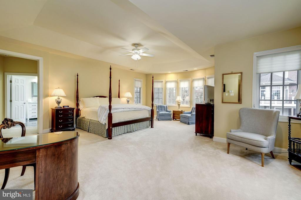 Large Master Bedroom includes sitting area - 3942 27TH RD N, ARLINGTON