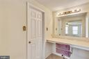 Master vanity area - 4405 CLIFTON SPRING CT, OLNEY