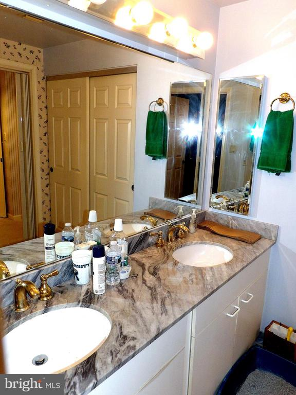 Master Bathroom - Double Vanity - 3801 CANTERBURY RD #514, BALTIMORE