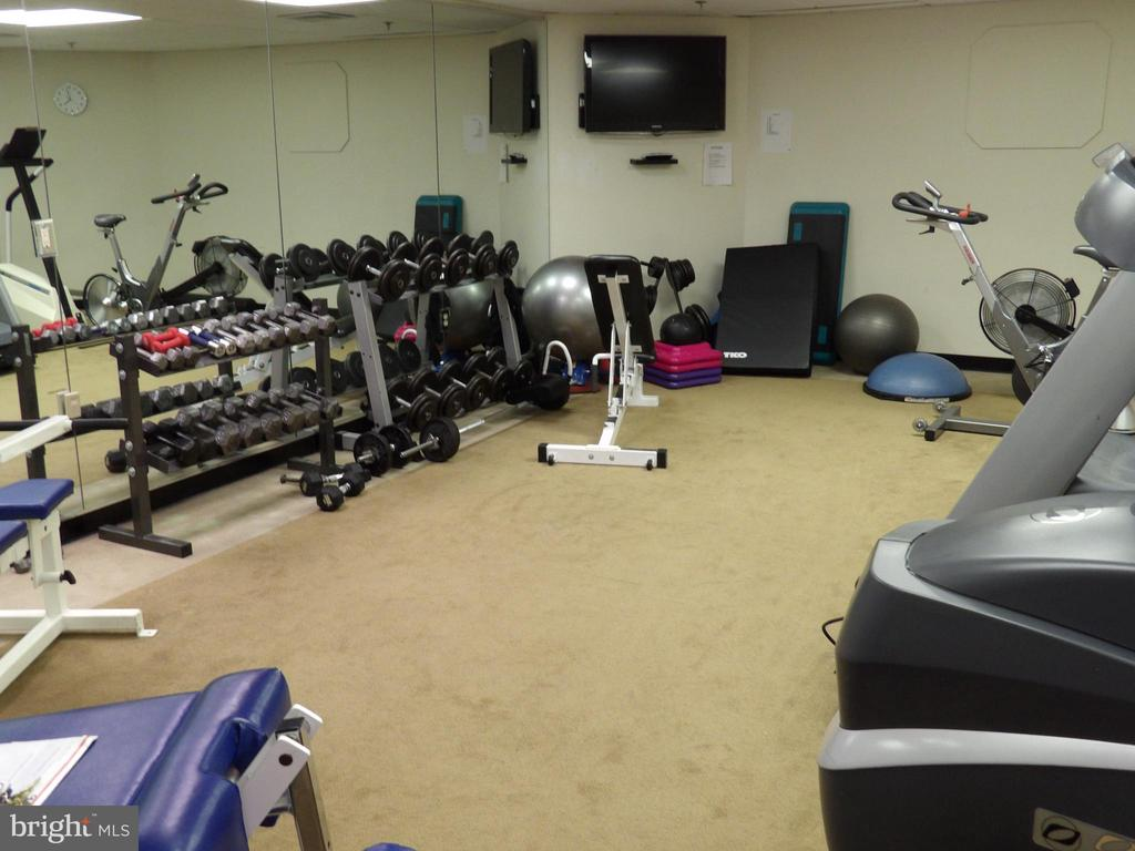 Exercise Room Available 24 Hours - 3801 CANTERBURY RD #514, BALTIMORE