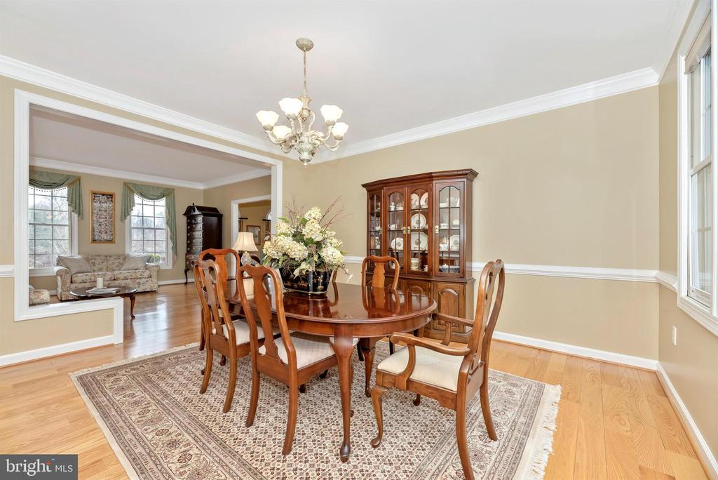 Spacious Dining Room open to Living Room - 5221 MUIRFIELD DR, IJAMSVILLE