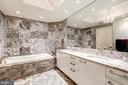 Marble Master Bath with Deep Soaking Tub - 1881 N NASH ST #1211, ARLINGTON