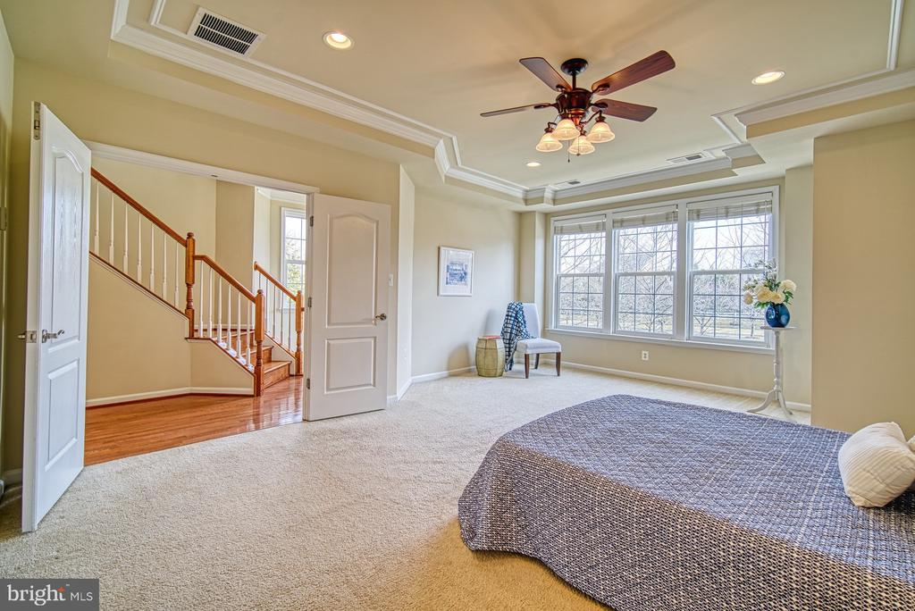 Ceiling fans, large windows, - 19348 GARDNER VIEW SQ, LEESBURG