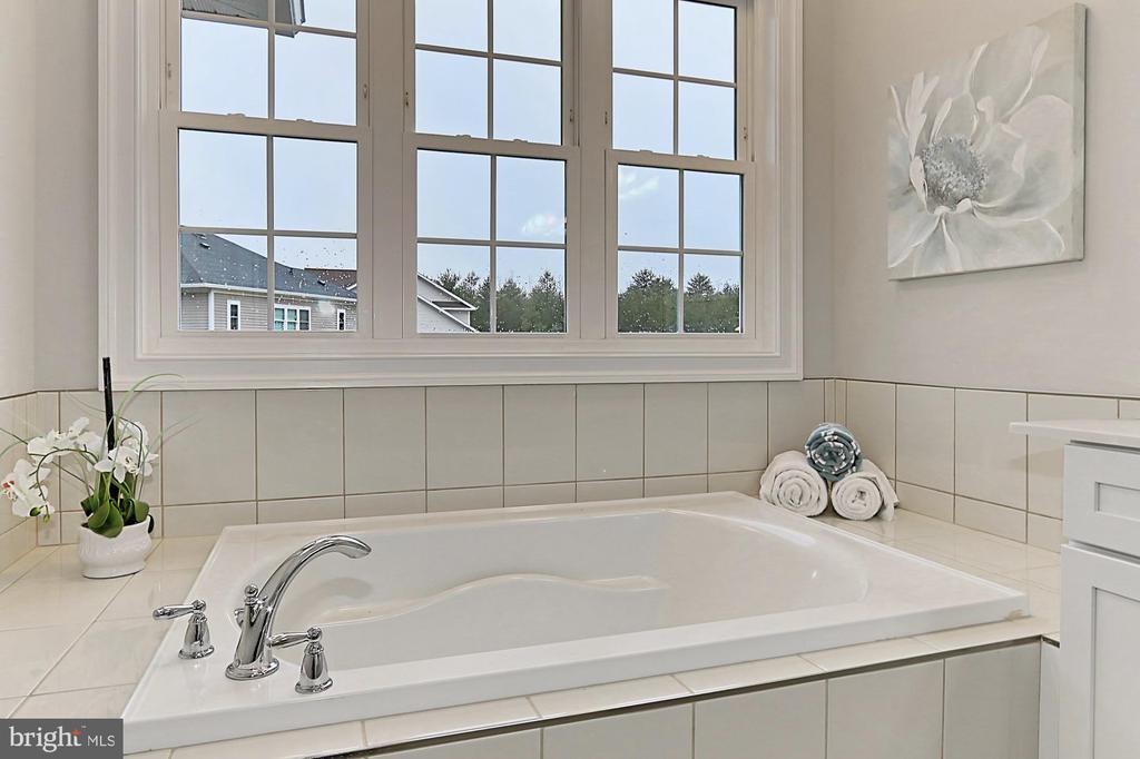 Master Bath soaking tub - 7423 FOUNDATION WAY, SPRINGFIELD