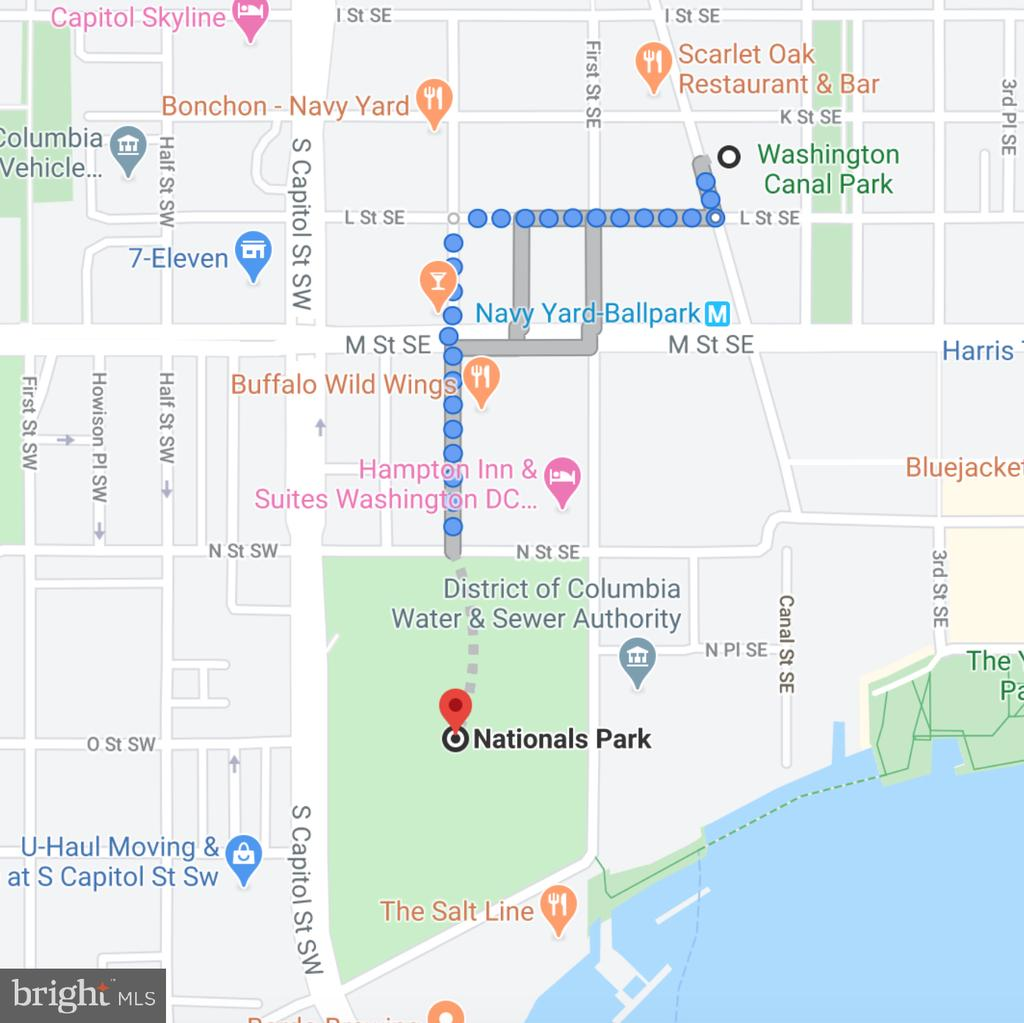 SHORT 8 min walk to Nationals Stadium! - 1000 NEW JERSEY AVE SE #606, WASHINGTON