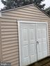 Newer shed - 107 BARROWS CT, FREDERICKSBURG