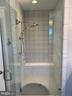 Walk-In Master Shower - 812 WEEDON ST, FREDERICKSBURG