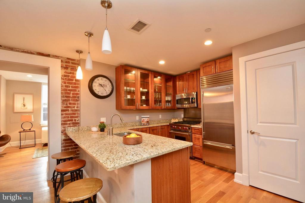 Kitchen - 215 I ST NE #1A, WASHINGTON