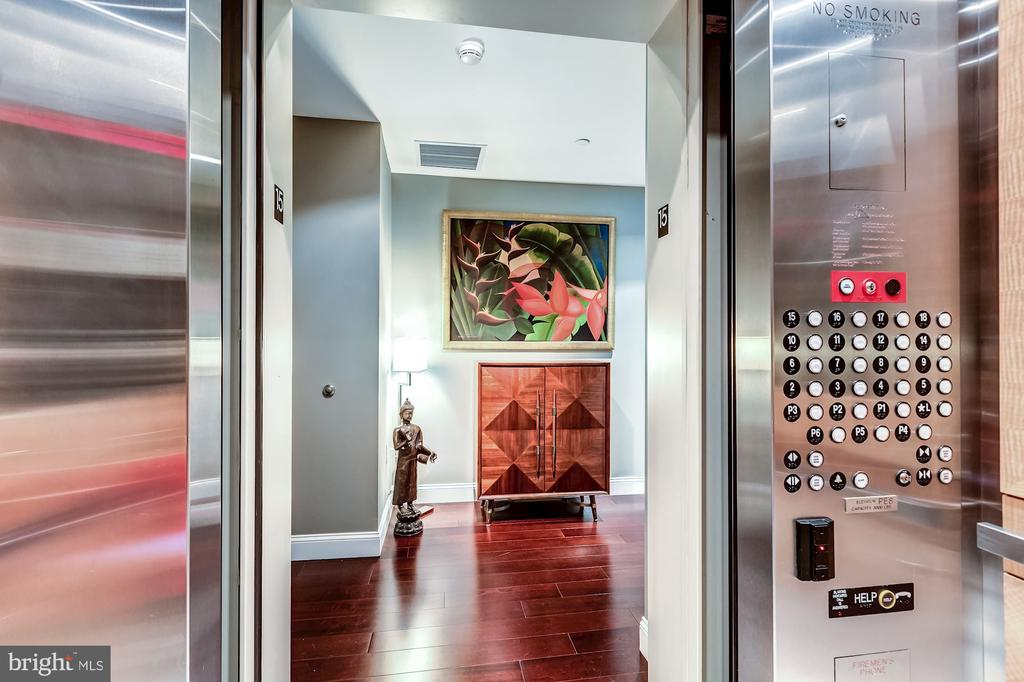 Private Elevator directly to home - 1881 N NASH ST #1503, ARLINGTON