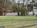 Property line on left side - 112 COLEBROOK RD, FREDERICKSBURG