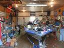 Inside Garage - 112 COLEBROOK RD, FREDERICKSBURG
