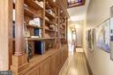 Exquisite woodworking on this custom built-in. - 226 8TH ST SE, WASHINGTON