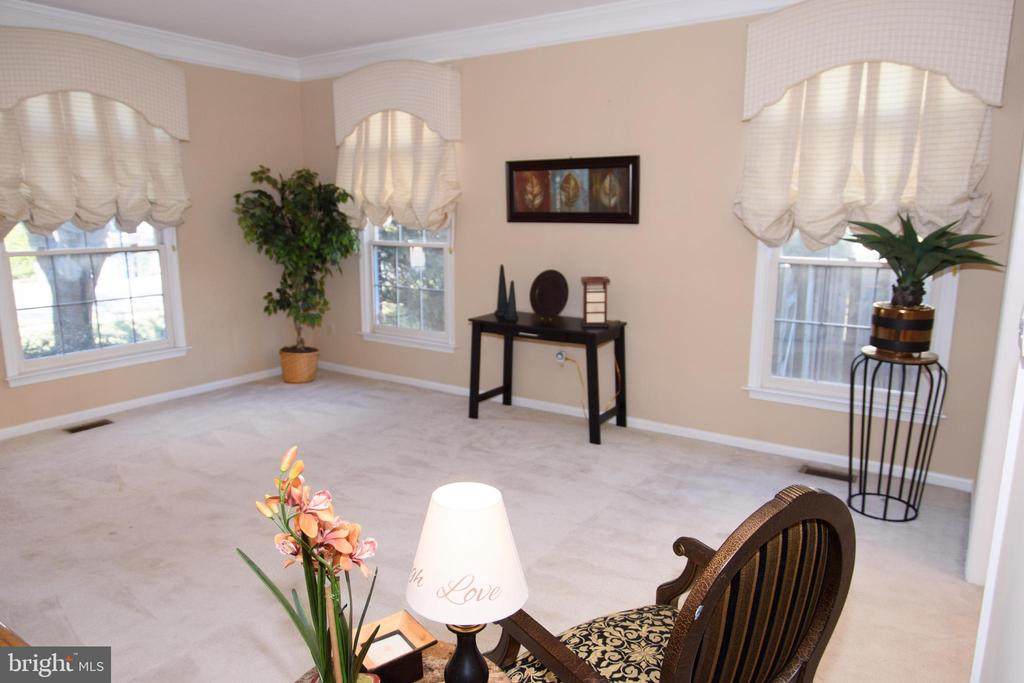 Sunlit spacious living room - 47400 GALLION FOREST CT, STERLING