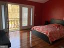 A balcony off of every bedroom. - 6809 CALVERTON DR, HYATTSVILLE