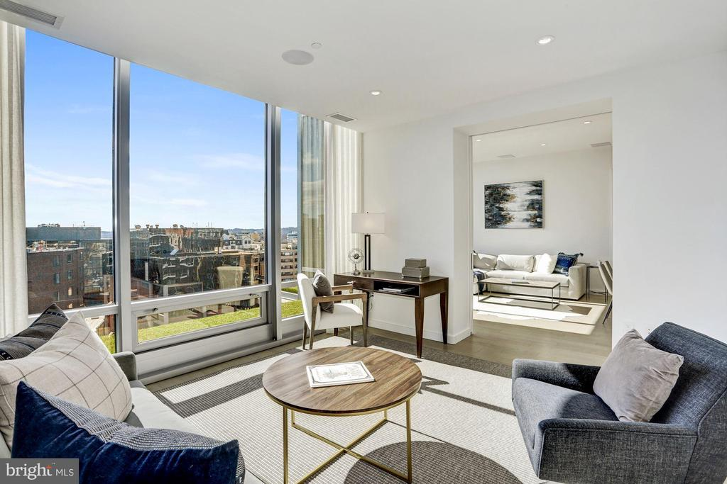 Floor to Ceiling Windows - 1111 24TH ST NW #PH105, WASHINGTON