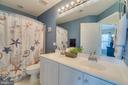 Hall Bathroom - 2573 SYLVAN MOOR LN, WOODBRIDGE