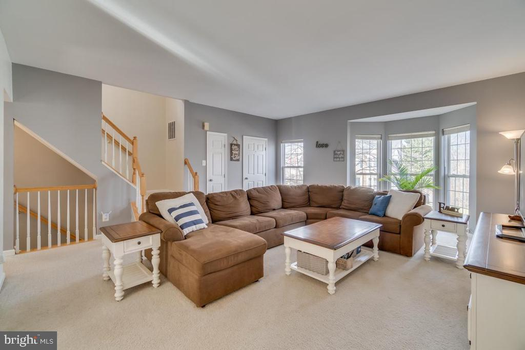 Family Room - 2573 SYLVAN MOOR LN, WOODBRIDGE