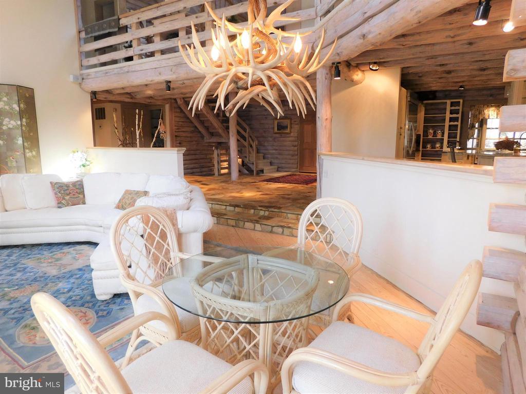 Dining Area/Living Room combined, open floor plan - 11713 WAYNE LN, BUMPASS