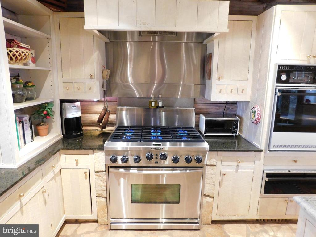 GAS cooking! Gourmet 6-burner stove. - 11713 WAYNE LN, BUMPASS