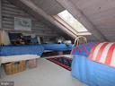 Upstairs Bedroom #3 with skylights - 11713 WAYNE LN, BUMPASS