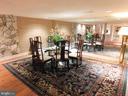 Basement: Additional Dining area OR Poker anyone?! - 11713 WAYNE LN, BUMPASS