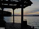 Sunset view from Gazebo - 11713 WAYNE LN, BUMPASS