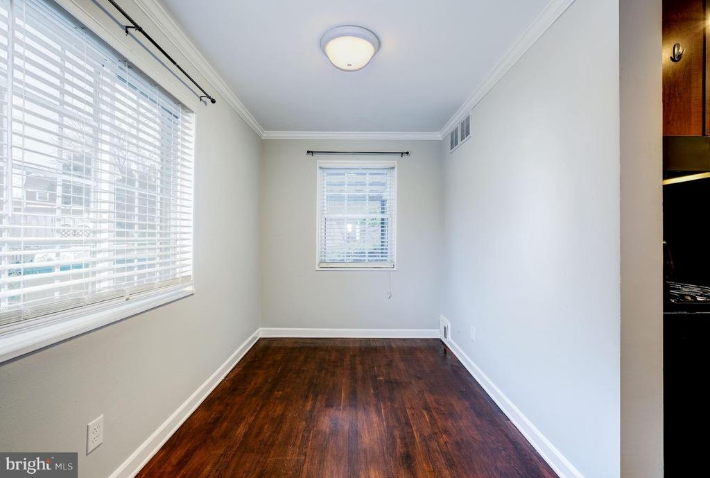 Dining Room - Hardwood Floors & Numerous Windows! - 4405 VERMONT AVE, ALEXANDRIA