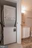 Washer and dryer in unit - 5934 COVE LANDING RD #301C, BURKE