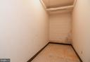 Large storage room in basement for unit - 5934 COVE LANDING RD #301C, BURKE