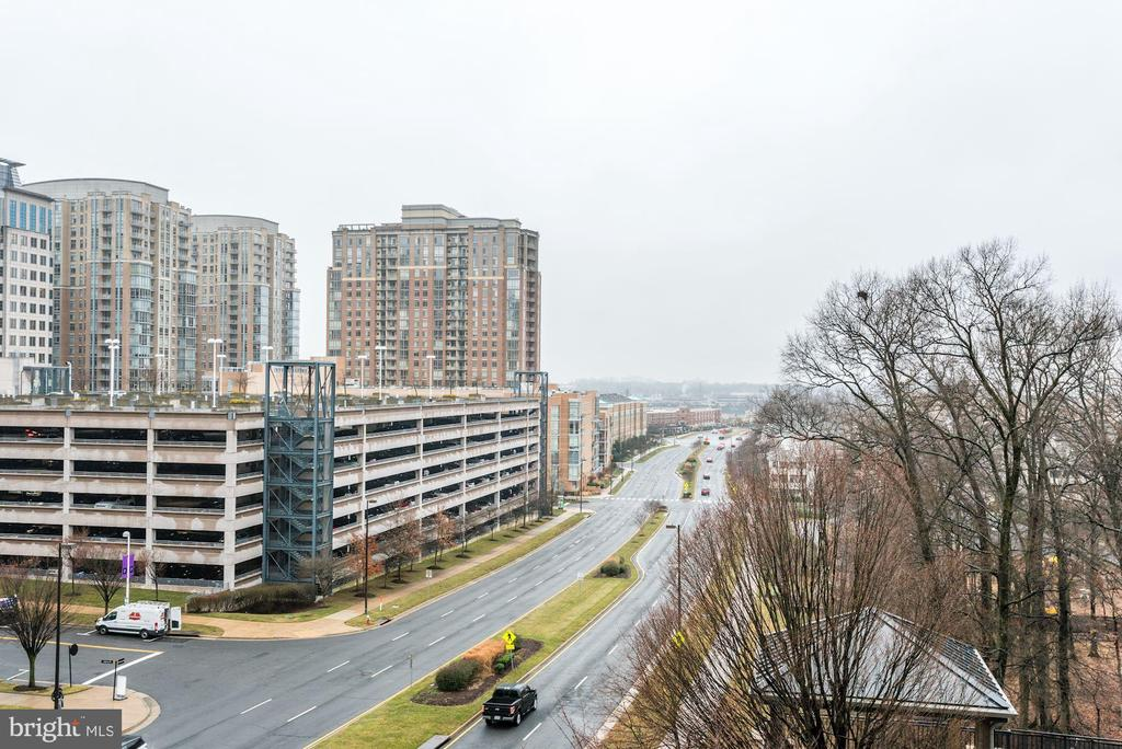 View from Balcony - 1830 FOUNTAIN DR #502, RESTON