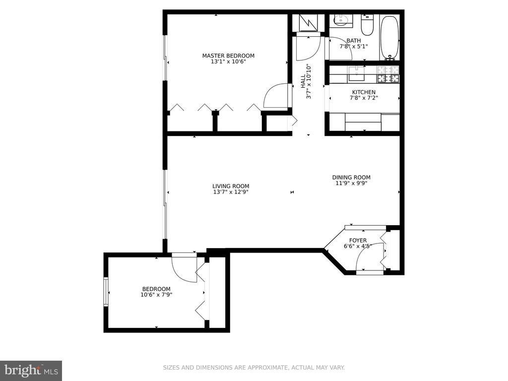 floor plan - 5934 COVE LANDING RD #301C, BURKE