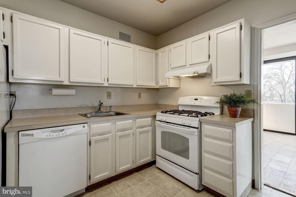 Kitchen toward Dining Room - 4141 HENDERSON RD #324, ARLINGTON