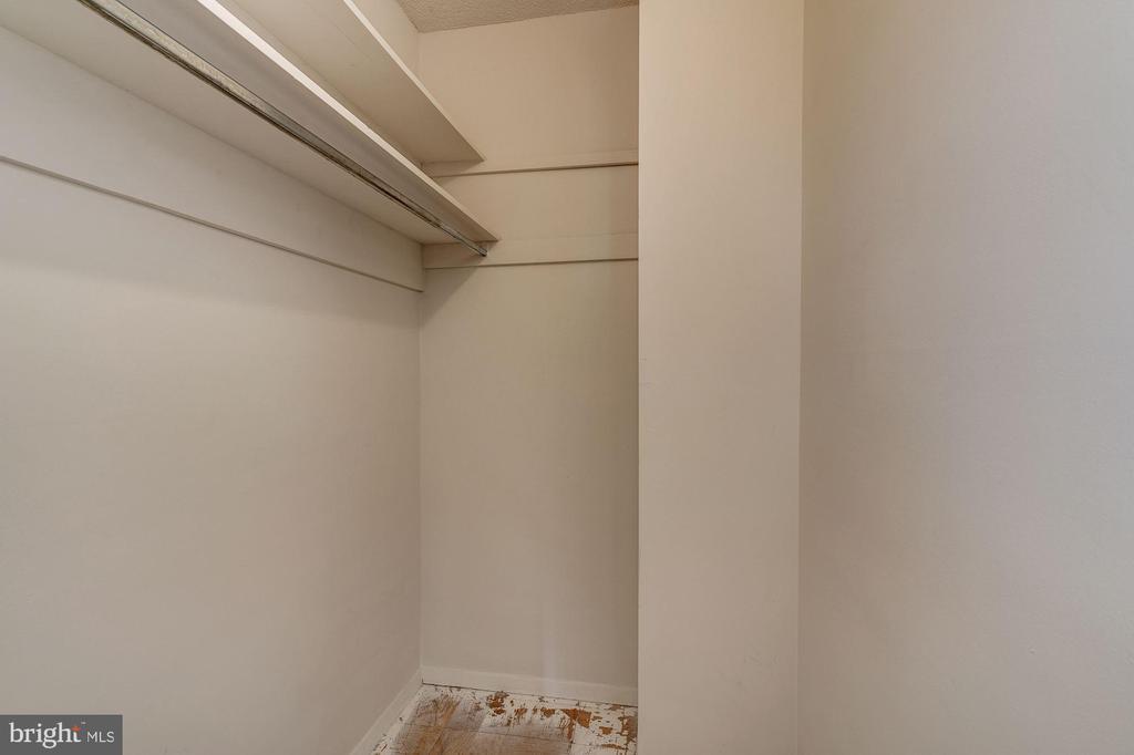 Large walk-in closet in Foyer - great storage! - 4141 HENDERSON RD #324, ARLINGTON